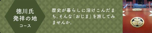 徳川氏発祥の地コース