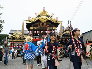 沖之郷祇園囃子