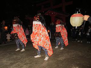 阿久津の獅子舞