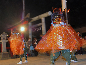 堀口の獅子舞