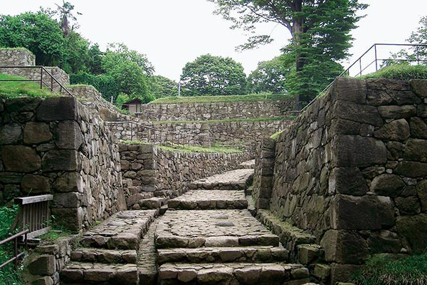 史跡金山城跡