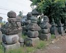 旧常楽寺「石塔群」 画像